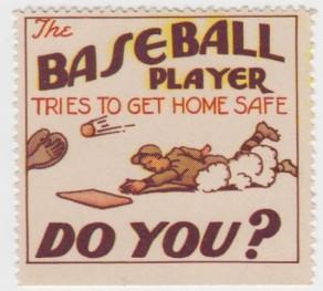 Texas League Baseball Safety Stamp