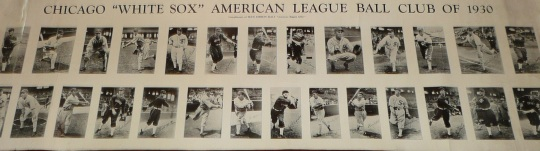 White Sox 1930 Blue Ribbon Malt Poster