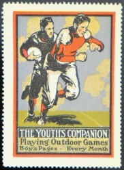 Youth Companion Football Stamp