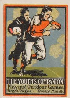 Youth's Companion Football Stamp