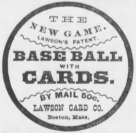 1884 Lawson Game Ad