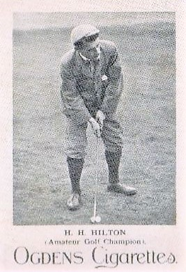 1898 Ogden Cricketers and Sportsmen H.H. Hilton Golf