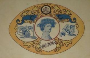 1907 P. Gordon No. 5100 Football Series Postcard
