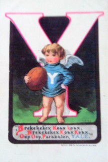 1909 Ullman College Baby Postcard Yale