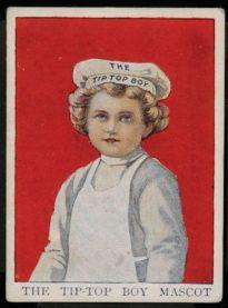 1910 Tip Top Boy Mascot