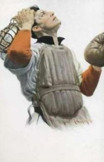 1912 PC766 Robert Robinson Postcards 2 Catcher.jpg