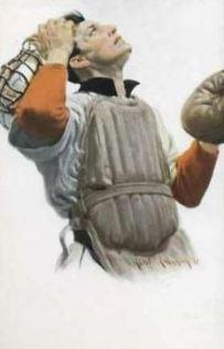1912 PC766 Robert Robinson Postcards 2 Catcher.jpg
