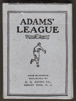 1914 Adams Playing League Box 1