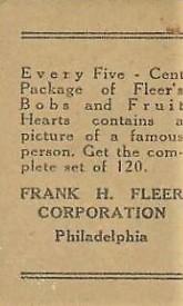 1923 W515 Fleer Back