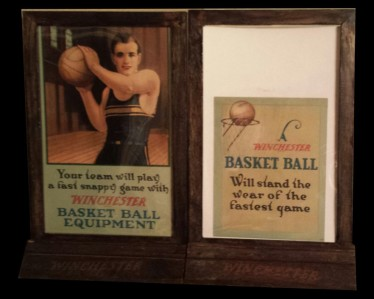 1923 Winchester Display and Showcase Cards