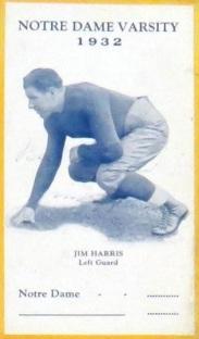 1932 Notre Dame Postcard