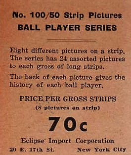 1933 Eclipse Import Ad Back