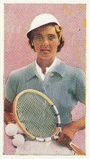 1934 R&J Hill Celebrities in Sport Tennis