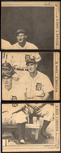 1935 Goudey Puzzle Pieces
