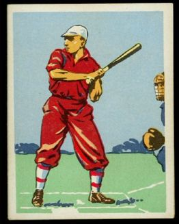 1935 Springbok Cigarettes 18 South Africa Baseball