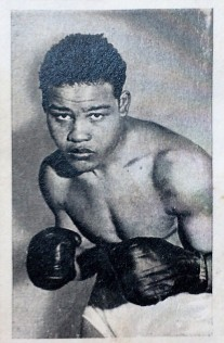 1935 United Tobacco Famous Boxers Joe Louis Rookie
