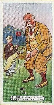 1936 Ardath Figures of Speech Golf