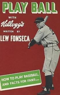1938 Lew Fonseca Book