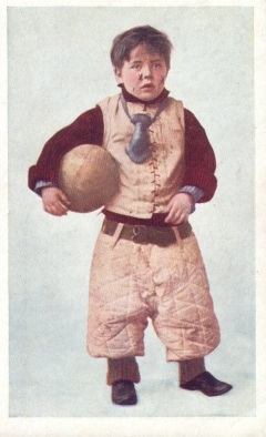 Austen Football Boy Postcard