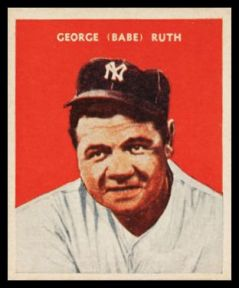 Babe Ruth 1933 US Caramel