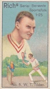Bill Tilden 1927 Rich's Sportsfolk Tennis