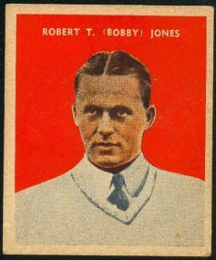 Bobby Jones 1933 US Caramel Golf