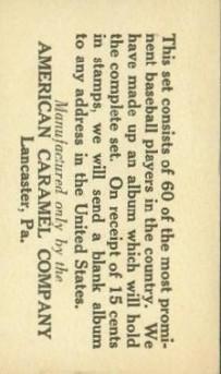 E126 American Caramel Back