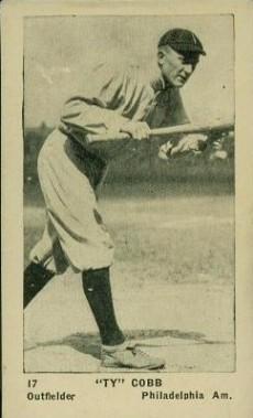 E126 American Caramel Ty Cobb