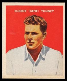 Gene Tunney 1933 US Caramel Boxing