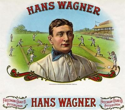 Honus Wagner Cigar Label