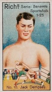 Jack Dempsey 1927 Rich's Sportsfolk Boxing