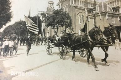 Jim Thorpe Tewanima Pop Warner Carlisle Parade Postcard