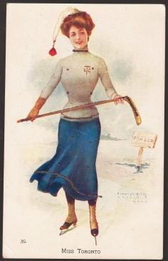 Miss Toronto 1905 Archie Gunn Postcard 39