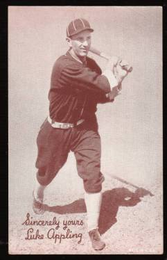 prewarcards-luke-appling Salutations Exhibit