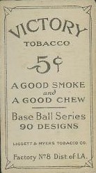T214 Victory Tobacco Back