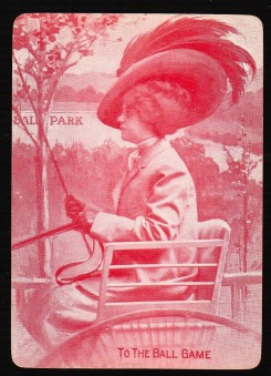To the Ball Game Playing Card #1 (1906).jpg