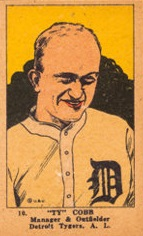 Ty Cobb W515 Strip