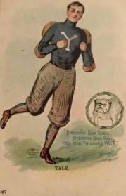 Ullman Football Postcard