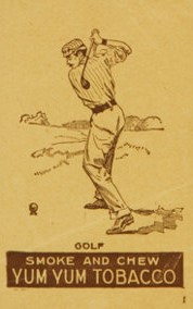 1893 N398 August Beck Golf Yum Yum