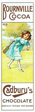1905 Cadbury Chocolate Sports Series Tennis