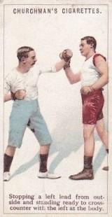 1922 Churchman Boxing