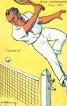 1924 Jeux Olympiques Tennis Postcard