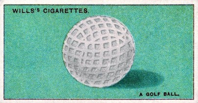 1924 Wills Do You Know Golf Ball