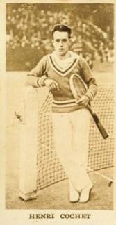 1929 Godfrey Sporting Champions Henri Cochet Tennis