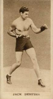 1929 Godfrey Sporting Champions Jack Dempsey Boxing