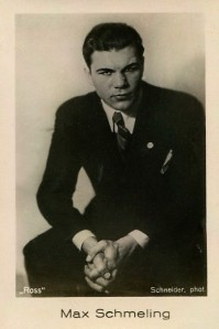1933 Jasmatzi Ramses Filmfotos Max Schmeling Boxing