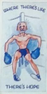1938 Bocnal Proverbs Boxing