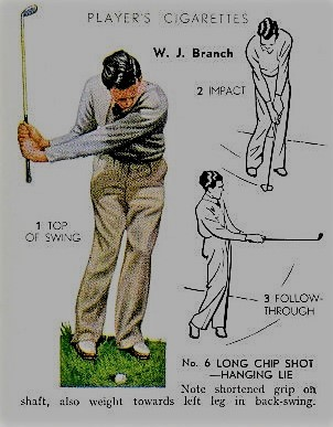 1939 Player Sons Golf