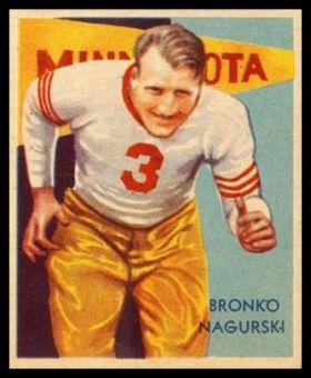 35NC 34 Bronko Nagurski