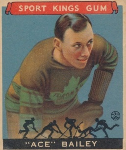 Ace Bailey 1933 Goudey Sport Kings Hockey